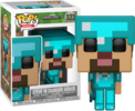 Minecraft - Steve in Diamond Armor Pop! Vinyl Figure (Games #322)