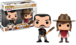 The Walking Dead - Negan & Carl Grimes Pop! Vinyl Figure 2-pack