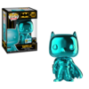 Batman - Batman Teal Chrome Pop! Vinyl Figure SDCC 2019 (DC Heroes #144)