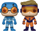 DC Comics - Blue Beetle & Booster Gold US Exclusive Pop! Vinyl Figure 2-pack