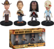 The Walking Dead - Mini Wacky Wobbler 4-Pack