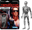 Terminator - T-800 Silver finish Endoskeleton ReAction Figure