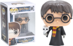 Harry Potter - Harry with Hedwig Pop! Vinyl Figure (Harry Potter #31)