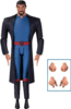Justice League Gods and Monsters - Superman Action Figure (#02)