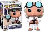 Back to the Future - Dr. Emmett Brown Pop! Vinyl Figure (Movies #50)