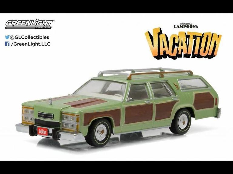 National Lampoons Vacation 1979 Family Truckster Wagon Queen Die