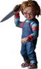 "Child's Play - Chucky 4"" Scale Ultimate Action Figure"