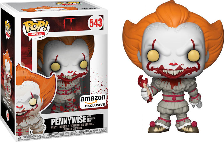 It 2017 Pennywise With Severed Arm Pop Vinyl Figure