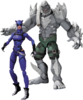 "Injustice: Gods Among Us - Catwoman vs Doomsday 3.75"" Action Figure 2-Pack"