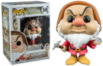Snow White and the Seven Dwarfs - Grumpy with Diamond & Pick Pop! Vinyl Figure (Disney #348)