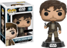 Star Wars: Rogue One - Captain Cassian Andor Brown Suit Pop! Vinyl Figure (Star Wars #151)