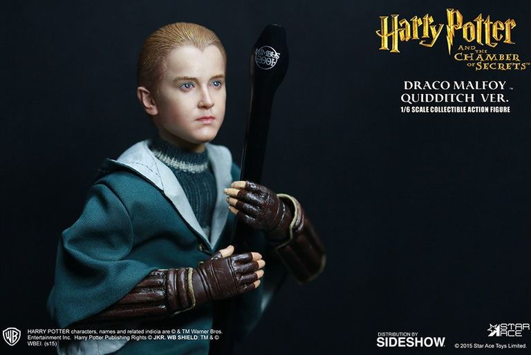 harry potter and the chamber of secrets draco malfoy quidditch  enlarge