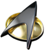 Star Trek: The Next Generation - Communicator Badge 1:1 Magnetic Replica