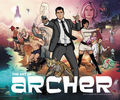 Archer - The Art of Archer Hardback Book