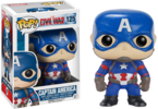Captain America: Civil War - Captain America Pop! Vinyl Figure (Marvel #125)