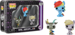 My Little Pony - Rainbow Dash, Discord & Derpy Pocket Pop! Tin (Pocket Pop #05)