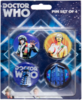 Doctor Who - Retro Pinset of 4
