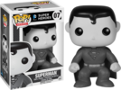 Superman - Black and White Superman Pop! Vinyl Figure (DC Heroes #07)