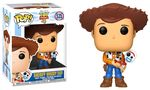Toy Story 4 - Sheriff Woody holding Forky Pop! Vinyl Figure (Disney #535)