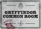 Harry Potter - Gryffindor Common Room Small Tin Sign