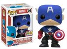 Captain America - Bucky Cap Pop! Vinyl Figure (Marvel #06)