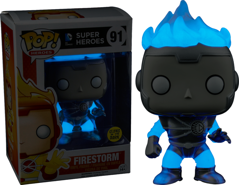 White Lantern Firestorm Glow In The Dark Pop Vinyl