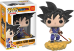 Dragon Ball Z - Goku and Flying Nimbus Pop! Vinyl Figure (Animation #109)