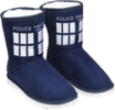 Doctor Who - TARDIS Boot Slipper Ladies Size 9