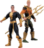 "Injustice: Gods Among Us - Aquaman vs Black Adam 3.75"" Action Figure 2-Pack"