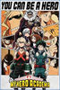 My Hero Academia - You Can Be A Hero Poster