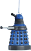 "Doctor Who - 2.5"" Dalek (Blue) Blow Mold Xmas Ornament"