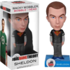 The Big Bang Theory - Sheldon Superman Black Shirt SDCC 2012 US Exclusive Wobbler