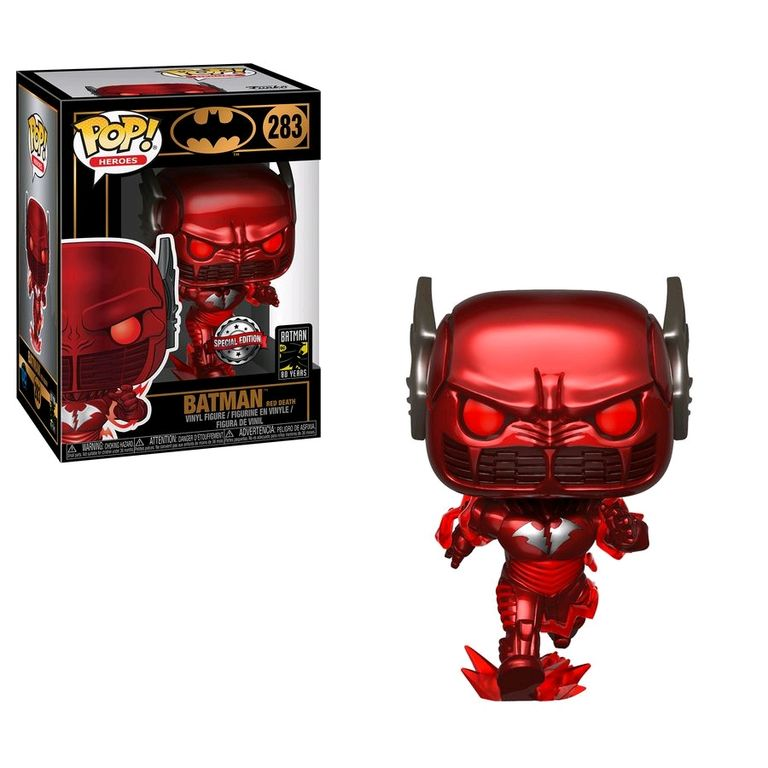 Batman - Red Death Pop! Vinyl Figure (DC Heroes #283