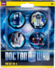 Doctor Who - 11th Doctor Pinset of 4
