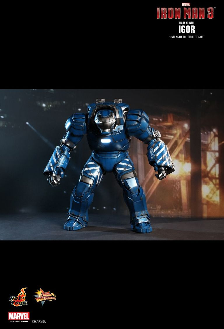 Iron Man 3 Mark Xxxviii Igor 1 6th Scale Hot Toys Figure Retrospace 25 Striker