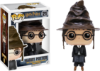 Harry Potter - Harry Potter in Sorting Hat Pop! Vinyl Figure (Harry Potter #21)