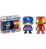 Captain America Civil War - Captain America & Iron Man Pop! Vinyl Figures 2-Pack
