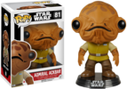 Star Wars The Force Awakens - Admiral Ackbar Pop! Vinyl Figure (Star Wars #81)