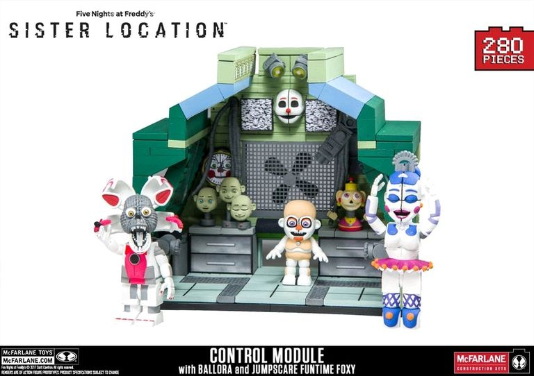 Five Nights At Freddy S Sister Location Control Module