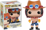 One Piece - Portgas. D. Ace Pop! Vinyl Figure (Animation #100)