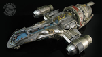 Firefly - Serenity Cutaway 1:250 Scale Replica