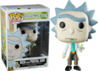 Rick and Morty - Rick with Portal Gun Pop! Vinyl Figure (Animation #114)