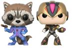 Marvel vs Capcom: Infinite - Rocket Raccoon vs Mega Man X (Exclusive) Pop! Vinyl Figure 2-pack