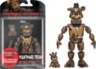 "Five Nights at Freddy's - Nightmare Freddy 5"" Articulated Action Figure"