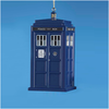 "Doctor Who - 4.5"" Blow Mold TARDIS Xmas Ornament"