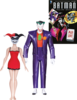 Batman: The Animated Series - Joker (in purple suit) and Harley Quinn (in dress) Mad Love Action Figures 2-pack