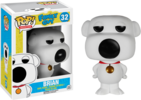 Family Guy - Brian Pop! Vinyl Figure (Animation #32)