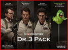 "Ghostbusters - 12"" Dr's Action Figure 3-Pack with Slimer"