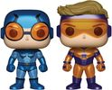 DC Comics - Blue Beetle & Booster Gold Metallic US Exclusive Pop! Vinyl Figure 2-pack