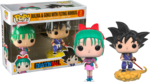 Dragon Ball - Bulma & Goku with Flying Nimbus Pop! Vinyl Figure 2-Pack